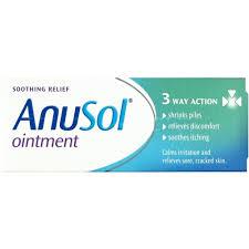 traitement contre hémorroides anusol